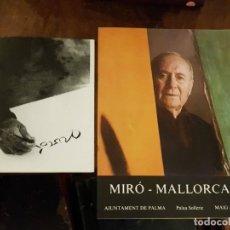 Arte: LOTE MIRÓ MALLORCA Y UN JOC PER NINS - REVISTAS OBSEQUIO DE LA EXPO PALAU SOLLERIC 1982. Lote 145171954