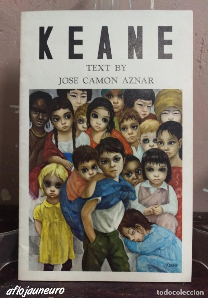 FOLLETO PINTOR KEANE 1946. JOSÉ CAMÓN AZNAR (Arte - Catálogos)