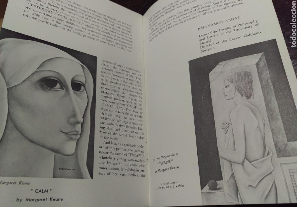 Arte: FOLLETO PINTOR KEANE 1946. JOSÉ CAMÓN AZNAR - Foto 2 - 145613382
