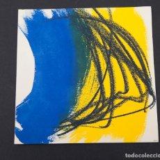 Arte: HANS HARTUNG - MAEGHT ZURICH - 1973. Lote 145723994