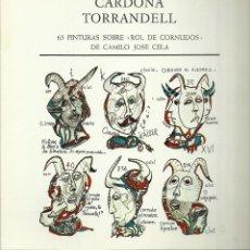 Arte: CARDONA TORRANDELL, ROL DE CORNUDOS 65 PINTURAS. GALERÍA DAU AL SET, 1977. Lote 145768990