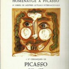 Arte - Homenatge a Picasso. Galería Dau al Set, 1977 - 145769218