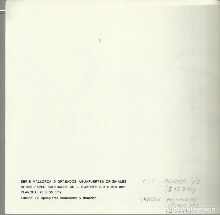 Arte: Miro , Sala pelaires,Mallorca 1973, 9 dibujos. Carpeta sin encuadernar para disponer de los dibujos - Foto 3 - 145982446