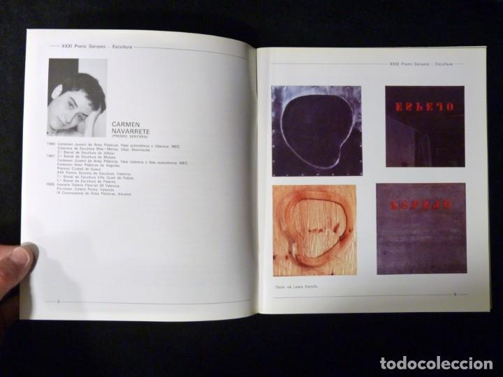 Arte: CATÁLOGO XXXI PREMIO SENYERA. PINTURA, ESCULTURA, GRABADO, CERÁMICA, FOTOGRAFÍA. VALENCIA, 1988 - Foto 2 - 146189842
