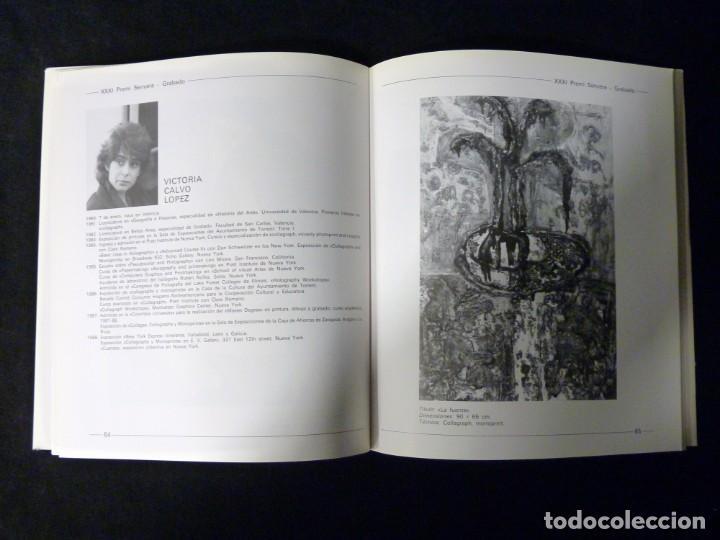Arte: CATÁLOGO XXXI PREMIO SENYERA. PINTURA, ESCULTURA, GRABADO, CERÁMICA, FOTOGRAFÍA. VALENCIA, 1988 - Foto 3 - 146189842