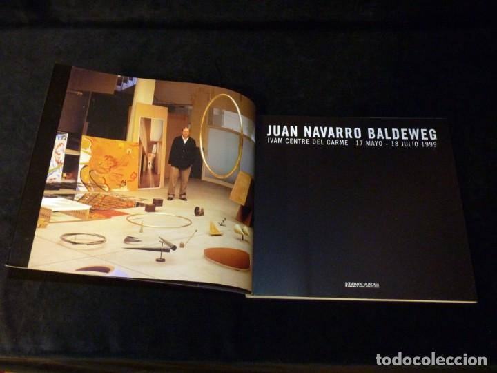 Arte: CATÁLOGO JUAN NAVARRO BALDEWEG. IVAM CENTRE JULIO GONZÁLEZ, 1999 - Foto 3 - 146190806