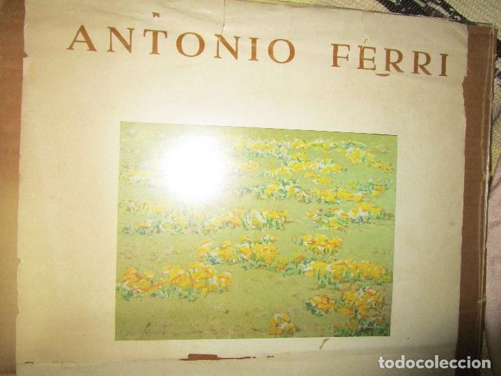 Arte: CARTEL ANTIGUO PINTURA VALENCIANA ANTONIO FERRI EXPOSICION HOMENAJE A FRANCISCO LOZANO VALENCIA - Foto 5 - 146249366