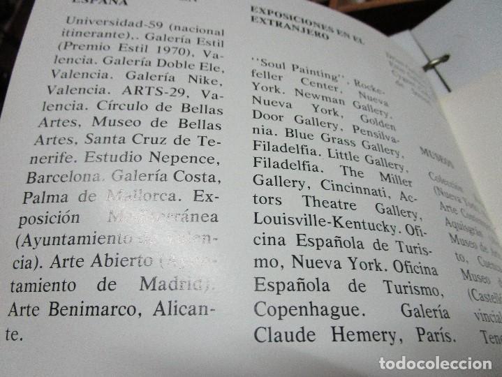 Arte: ANTONIO FERRI PINTOR VALENCIA HOMENAJE A LA MUJER CATALOGO GALERIA KREISLER MADRID - Foto 9 - 146463282