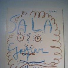 Arte: PICASSO. DIBUJOS, PINTURAS Y GRABADOS -SALA GASPAR 1968-. Lote 176841609
