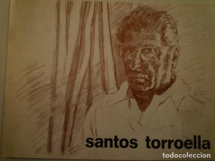 RAFAEL SANTOS TORROELLA. AQUAREL.LES. DÍPTICO. GALERIA PIC. 1976 (Arte - Catálogos)