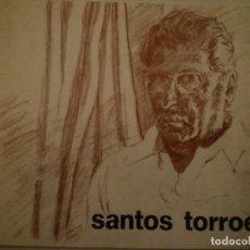 Arte: RAFAEL SANTOS TORROELLA. AQUAREL.LES. DÍPTICO. GALERIA PIC. 1976. Lote 146768590