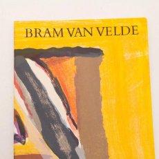 Arte - BRAM VA VELDE - MAEGHT 1974 - CUBIERTA LITOGRÁFICA - 146883282