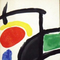 Arte: JOAN MIRÓ. CATÁLOGO CON PORTADA Y CONTRAPORTADA LITOGRÁFICA DE JOAN MIRÓ, SALA GASPAR, 1970.. Lote 150331316