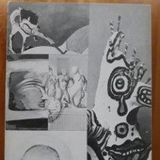 Arte: CINCO PINTORES DE LA NUEVA GENERACIÓN. GALERÍA RUIZ CASTILLO. 1975. Lote 147434876