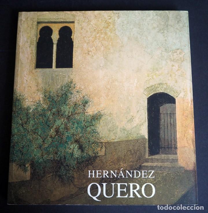 HERNANDEZ QUERO. CATALOGO. EXPOSICION ANTOLOGICA. GRANADA MARZO 2003. DEDICADO (Arte - Catálogos)
