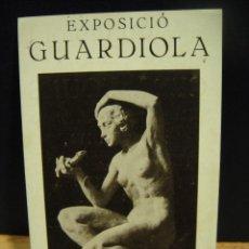 Arte: EXPOSICIO DE CERAMICAS JOSEP GUARDIOLA - SALA PARES AÑO 1932. Lote 147568362