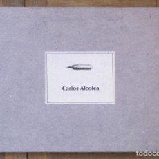 Arte: CARLOS ALCOLEA. CARTULINAS Y DIBUJOS. CATÁLOGO EXPOSICIÓN EN G. DEPÓSITO 14, ENERO-ABRIL 2003.. Lote 147622666