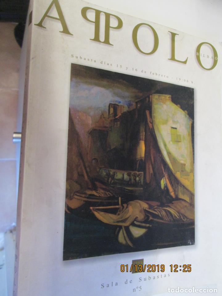 APOLO Nº 5 CATALOGO DE SUBASTAS 15 Y 16 FEBRERO 2005 (Arte - Catálogos)