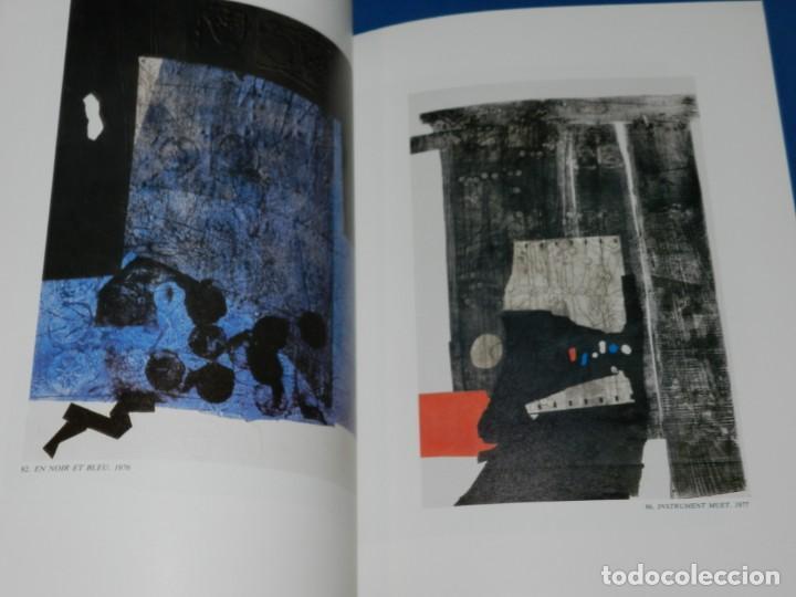 Arte: (M2.6) CATALOGO ANTONI CLAVE GRAVURES 1965 - 1980 , BARCELONA 1982 , ILUSTRADO - Foto 3 - 148344698