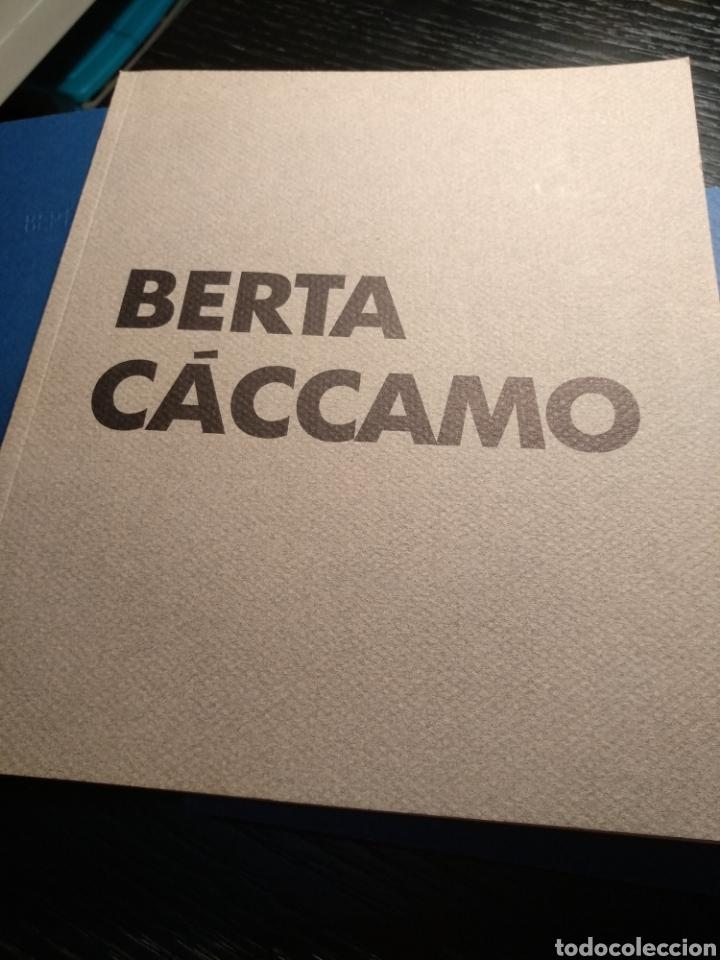 BERTA CÁCCAMO. GALERÍA ALFONSO ALCOLEA (Arte - Catálogos)