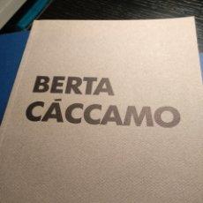 Arte: BERTA CÁCCAMO. GALERÍA ALFONSO ALCOLEA. Lote 176420310