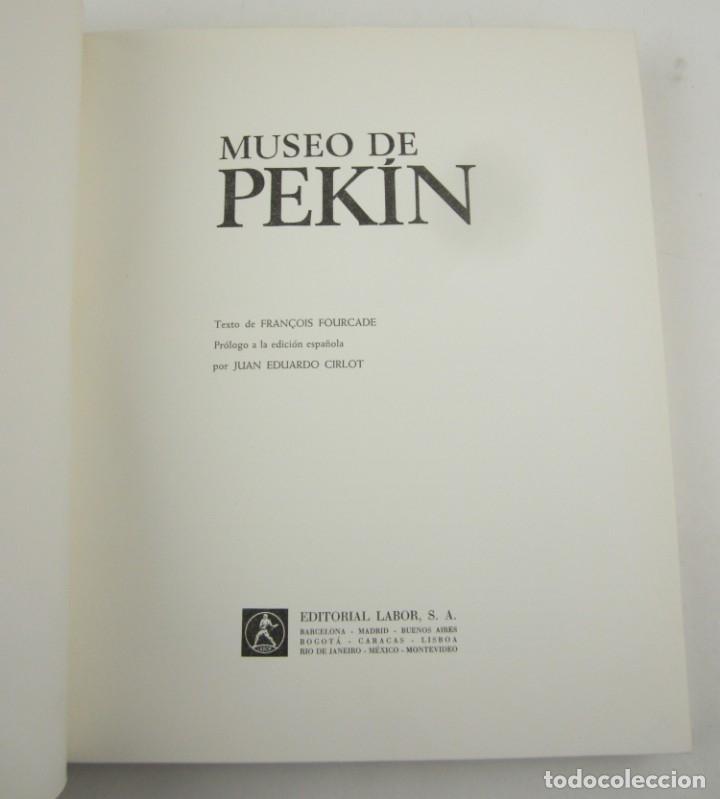 Arte: Museo de Pekin, Juan Eduardo Cirlot, 1968, Editorial Labor, Barcelona. 33,5x27,5cm - Foto 2 - 149462110