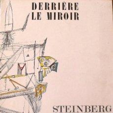 Arte: DERRIERE LE MIROIR. STEINBERG. 1953. MAEGHT. Nº 53-54. SEGUNDA EDICIÓN. 22 REPRODUCCIONES EN COLOR.. Lote 149479594