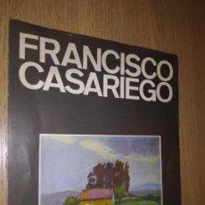 Arte: FRANCISCO CASARIEGO SALA MURILLO DEL 6 AL 25 DE DICIEMBRE DE 1974. Lote 149822198