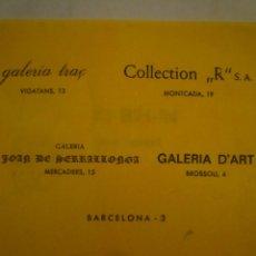 Arte: DAI-BIH-IN. INVITACIÓN. JOAN DE SERRALLONGA. COLLECTION R. 1982. Lote 149846194