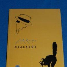 Arte: EDUARDO ARROYO - GRABADOR , MUSEO CASA DE LA MONEDA 1994 , MUY ILUSTRADO , 121 PAG. Lote 149867142