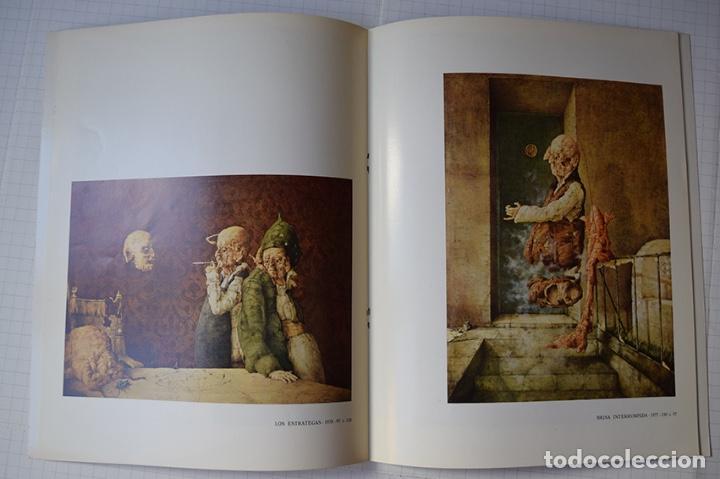 Arte: José Hernández (Tánger 1944-Málaga 2013) · Lote de 6 catálogos y 2 prospectos - Foto 8 - 150160702