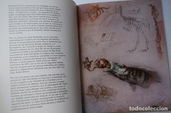 Arte: José Hernández (Tánger 1944-Málaga 2013) · Lote de 6 catálogos y 2 prospectos - Foto 11 - 150160702