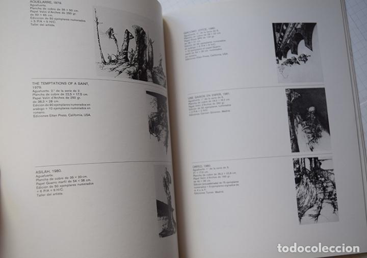 Arte: José Hernández (Tánger 1944-Málaga 2013) · Lote de 6 catálogos y 2 prospectos - Foto 12 - 150160702