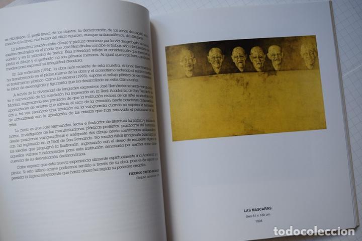 Arte: José Hernández (Tánger 1944-Málaga 2013) · Lote de 6 catálogos y 2 prospectos - Foto 16 - 150160702