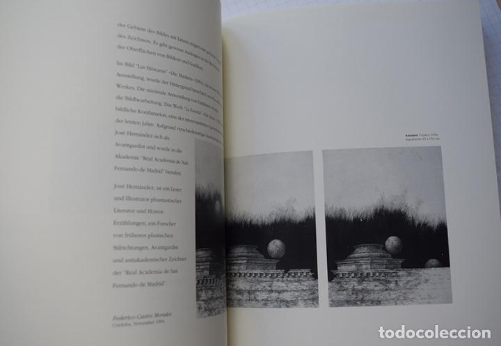 Arte: José Hernández (Tánger 1944-Málaga 2013) · Lote de 6 catálogos y 2 prospectos - Foto 22 - 150160702