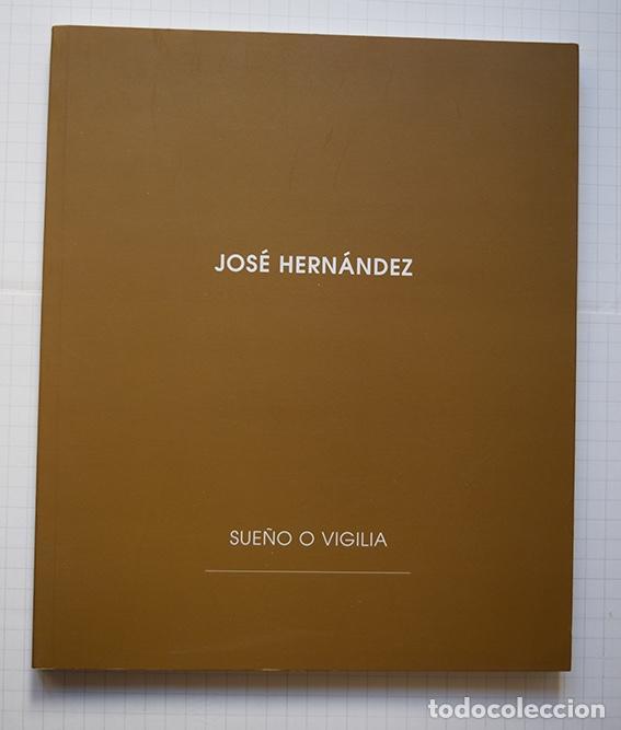Arte: José Hernández (Tánger 1944-Málaga 2013) · Lote de 6 catálogos y 2 prospectos - Foto 23 - 150160702