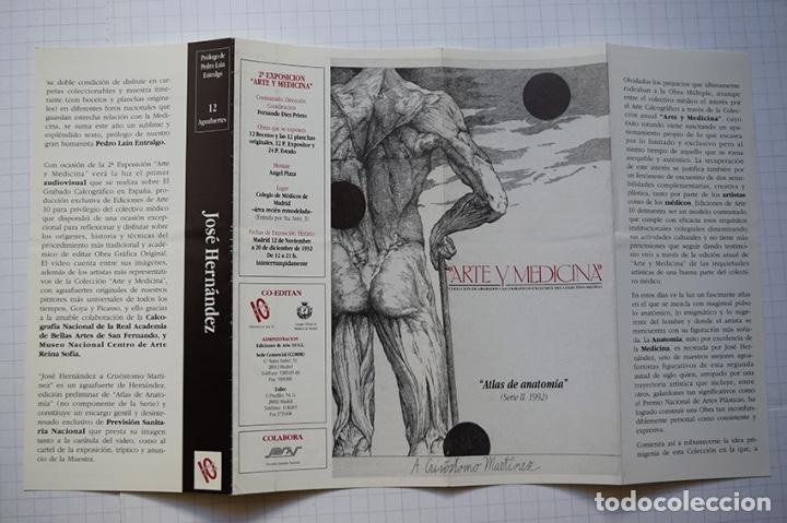 Arte: José Hernández (Tánger 1944-Málaga 2013) · Lote de 6 catálogos y 2 prospectos - Foto 29 - 150160702