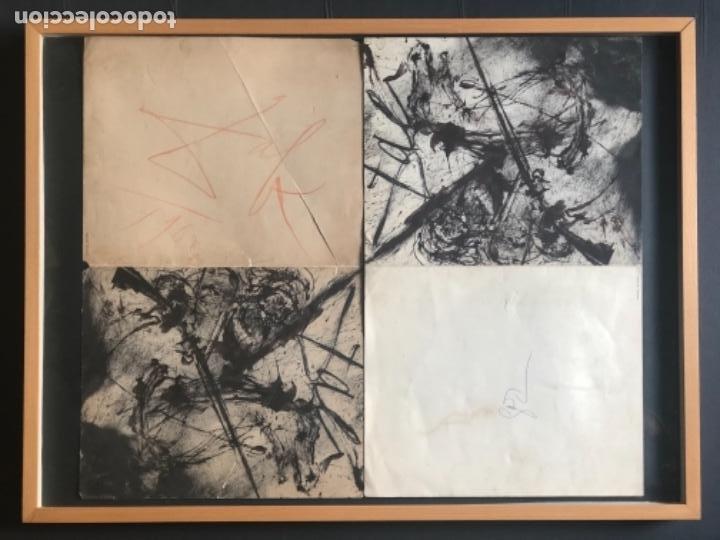 DOBLE CATÁLOGO FORTUNY DALI Y SUS BATALLAS DE TETUÁN AÑO 1962 FIRMA ORIGINAL DALI Y GALA ORIGINAL (Arte - Catálogos)