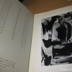 Arte: CATALOGO PINTOR GERARD SCHNEIDER GALERIA ARTE IL CENTRO NAPOLI 1964 . Lote 150242866