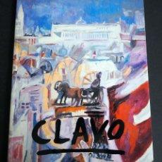 Art: CLAVO. CATALGO EXPOSICION. GALERIA ESPALTER. MADRID 1996.. Lote 150735638