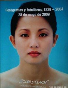 2009 Soler y Llach subasta fotografías y fotolibros (1839-2004) 28 mayo 2009