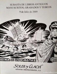 2009 Soler y Llach subasta de libros, manuscritos grabados y tebeos 9 julio 2009 - cómics