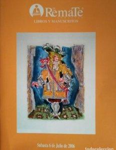 2006 El Remate subastas libros y manuscritos 6 de julio 2006