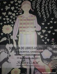 2011 Soler y Llach subasta 2011 manuscritos, grabados., mapas y coleccionismo