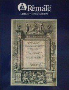 2009 Soler y Llach subasta de libros antiguos, manuscritos, grabados y mapas 11 junio 2009