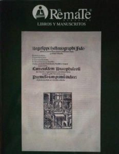 2006 El Remate subastas 19 de octubre de 2006 libros y manuscritos