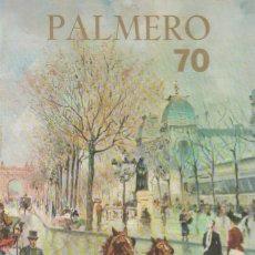 Arte: FOLLETO EXPOSICIÓN PINTURA ALFREDO PALMERO EN SALA RIBALTA, GALERÍAS SAN VICENTE, VALENCIA 1970 . Lote 151263522