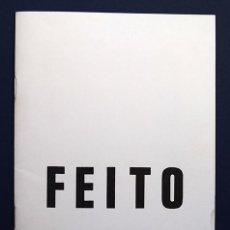 Arte: LUIS FEITO (MADRID, 1929) · GALERÍA JUANA MORDÓ, MAYO 1970 - TEXTO DE MARC ALBERT-LEVIN. Lote 151450990
