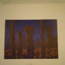 Arte: CARMEN CALVO. PINTURAS. GALERIA GAMARRA GARRIGUES. MADRID. 1987. Lote 151643690