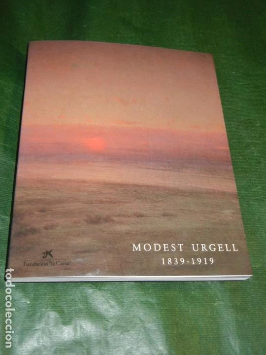 CATALOGO EXPOSICION MODEST URGELL 1839-1919 - BARCELONA 1992 - INCLUYE FACSIMIL (Arte - Catálogos)